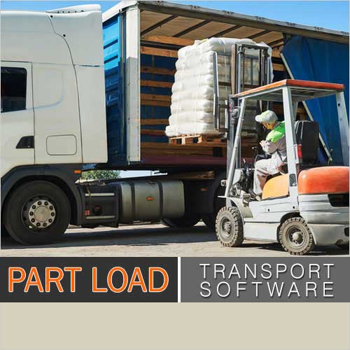 part load transport software